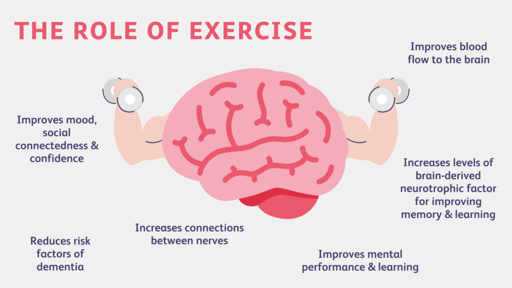 Role of Exercise Graphic
