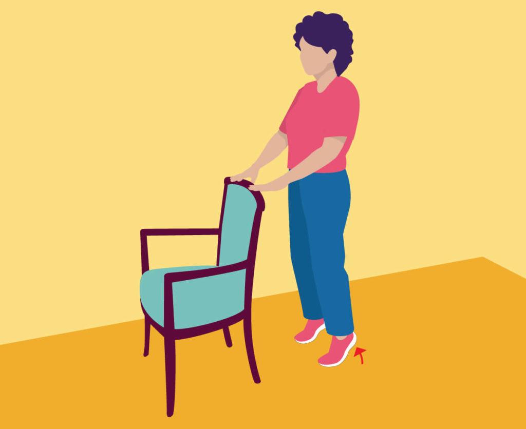 Exercises for Seniors - Toe Lifts