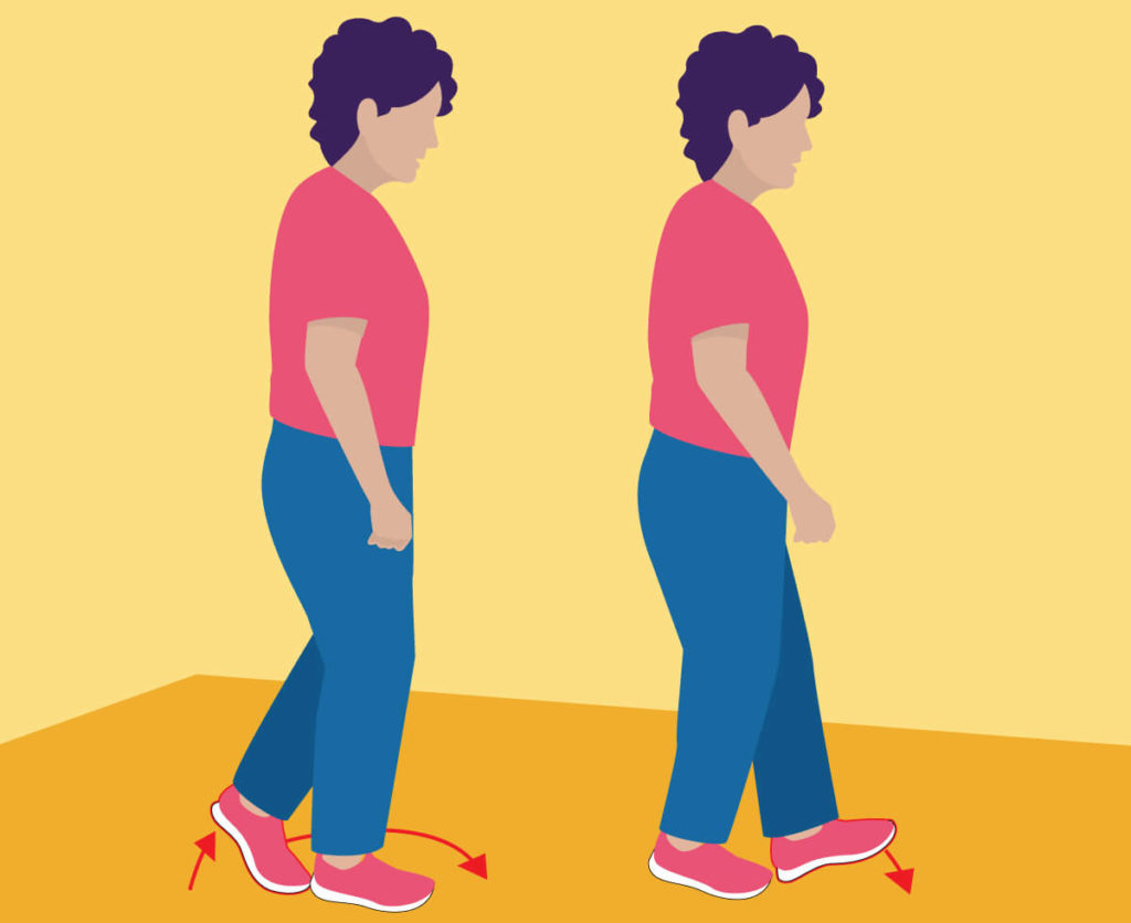 Exercises for Seniors - Walking Heel to Toe
