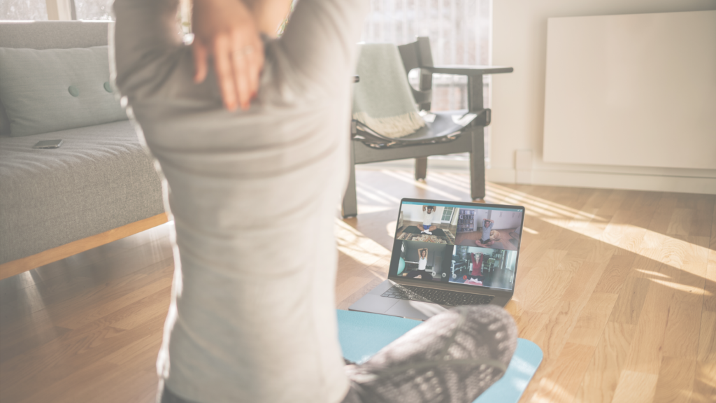 Physical distancing, not social distancing: how to stay connected with your exercise peers