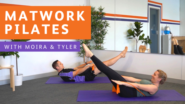 Matwork Pilates Video - Workout at Home