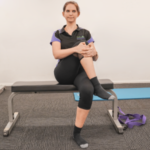 Gluteal Stretch - Seated​