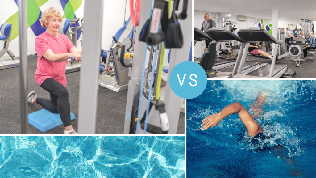 Water- vs. land-based exercise: how to choose the right type for you